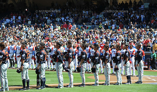 Japan team group (JPN), MARCH 15, 2009 - Baseball : World Baseball Classic Round 2 game between Cuba and Japan at Petco Park in San Diego, USA. (Photo by AFLO) .