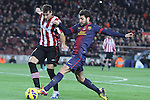 01.12.2012. Barcwelona, Spain. La Liga. Picture show Cesc Fabregas in action during match between FC Barcelona against Athletic at Camp Nou
