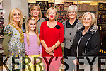 Charlotte Doyle, Grace McLouglin, Pauline Gleasure, Maggie Gibbons, Phil Gibbons and Eileen Tansley, pictured at Ch Chemist, Tralee, beauty evening on Friday last.