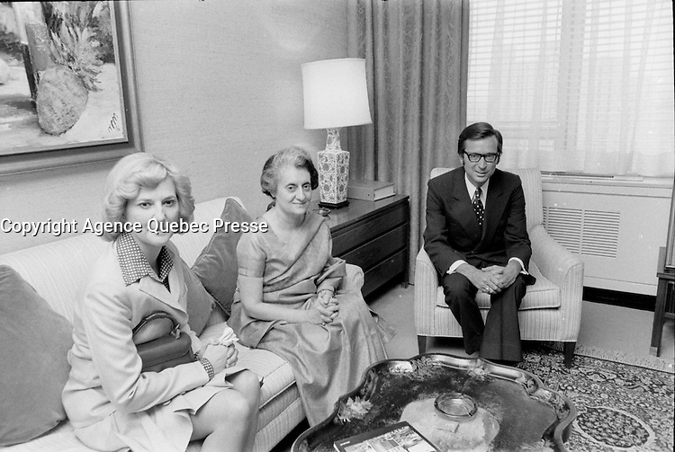FILE PHOTO -  Liberal leader Robert Bourassa in the seventies (exact date unknown)<br /> <br /> PHOTO : Alain Renaud - Agence Quebec Presse