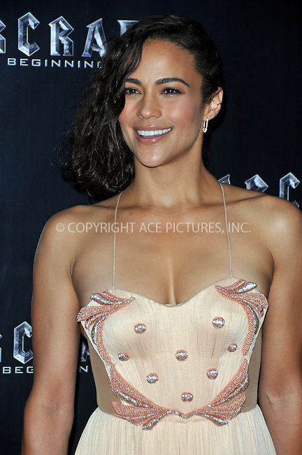 WWW.ACEPIXS.COM<br /> <br /> May 25 2016, London<br /> <br /> Paula Patton arriving at a special screening of 'Warcraft: The Beginning' at BFI IMAX on May 25, 2016 in London, England<br /> <br /> By Line: Famous/ACE Pictures<br /> <br /> <br /> ACE Pictures, Inc.<br /> tel: 646 769 0430<br /> Email: info@acepixs.com<br /> www.acepixs.com