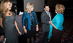 Christine Hassler, Cindy Morrison, and Host Dave Lesh greet First Lady Anita Perry - Eleventh Annual Texas Conference for Women
