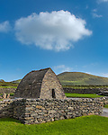County Kerry, Ireland: Gallarus Oratory on the Dingle Peninsula, an early Christian church (c.500-800)