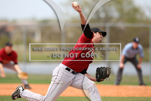 March 22, 2010:  Pitcher Zach Grimmett of the Houston Astros organization during Spring Training at the Carl Barger Training Complex in Melbourne, FL.  Photo By Mike Janes/Four Seam Images