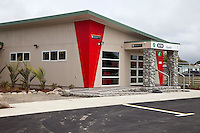 i-Site Information Office, Opotiki, north island, New Zealand.