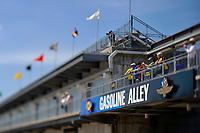 Verizon IndyCar Series<br /> Indianapolis 500 Practice<br /> Indianapolis Motor Speedway, Indianapolis, IN USA<br /> Tuesday 16 May 2017<br /> Gasoline Alley overlook<br /> World Copyright: F. Peirce Williams