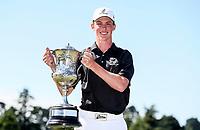 Daniel Hillier wins the New Zealand Amateur Golf Championship final against Tom Parker at Russley Golf Course, Christchurch, New Zealand. Sunday 5 November 2017. Photo: Simon Watts/www.bwmedia.co.nz
