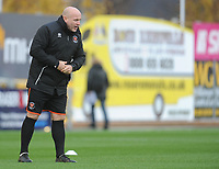 Blackpool Assistant Manager Gary Brabin during the pre-match warm-up <br /> <br /> Photographer Kevin Barnes/CameraSport<br /> <br /> Emirates FA Cup First Round - Exeter City v Blackpool - Saturday 10th November 2018 - St James Park - Exeter<br />  <br /> World Copyright © 2018 CameraSport. All rights reserved. 43 Linden Ave. Countesthorpe. Leicester. England. LE8 5PG - Tel: +44 (0) 116 277 4147 - admin@camerasport.com - www.camerasport.com