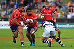 Tasman Mako vs Auckland Mitre 10 Cup Semi Final at Lansdowne Park, Blenheim 19th October 2019. Photo Gavin Hadfield / shuttersport.co.nz