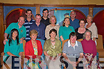 Pictured at the Cairde Nua party in the Killarney Avenue on Friday night Tricia O'Shea, Marie Walsh, Patricia O'Neill, Margaret Curran, Claudia White, Dave Sheehan, Billy Casey, Tim Collins, Michael O'Leary, Eileen McSparran, Vincent Lacke, Lisa O'Neill, Siobhan Corridan and Marian McLernan.........