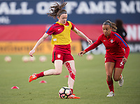 Frisco, TX - April 6, 2017: The USWNT defeated Russia 4-0 during a friendly at Toyota Stadium.