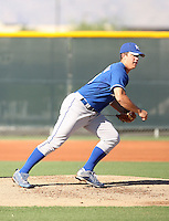Dusty Odenbach - Kansas City Royals - 2010 Instructional League.Photo by:  Bill Mitchell/Four Seam Images..
