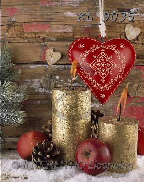 Interlitho-Alberto, CHRISTMAS SYMBOLS, WEIHNACHTEN SYMBOLE, NAVIDAD SÍMBOLOS, photos+++++,2 candles,KL9035,#xx# ,wood