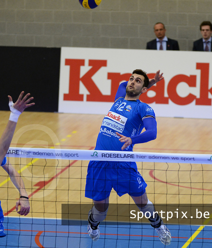 Knack Roeselare - Precura Antwerpen : Ruben Van Hirtum <br /> foto VDB / BART VANDENBROUCKE