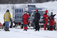2013 Junior Iditarod start on Knik Lake.  Knik Alaska..Photo by Jeff Schultz/IditarodPhotos.com   Reproduction prohibited without written permission