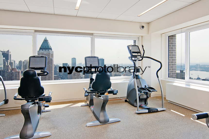 Gym at 322 West 57th Street