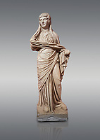 Roman statue of women. Perge. 2nd century AD. inv 3270 . Antalya Archaeology Museum; Turkey.