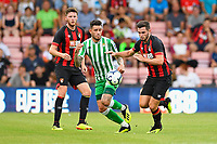 Lewis Cook of AFC Bournemouth right vies for the ball during AFC Bournemouth vs Real Betis, Friendly Match Football at the Vitality Stadium on 3rd August 2018
