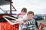 Enjoying  the Kingdom County Fair in Ballybeggan on Sunday were Katie and Darragh Bell from Milltown