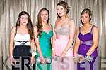 STYLE: Enjoying a great time at the St Joseph's Presentation, Castleisland Debs Ball at the Earl of Desmond hotel on Saturday l-r:Jane Lynch, Orla Brosnan, Aine O'Connor and Kelsey O'Sullivan.