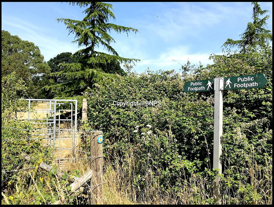 """BNPS.co.uk (01202 558833)<br /> Pic: BNPS<br /> <br /> The current footpath runs through the school's land.<br /> <br /> A prestigious private school wants a public footpath that runs across its land diverted due to the amount of dogs' mess left on its immaculate playing fields.<br /> <br /> Bosses at £30,000 a year Canford School in Dorset have also cited concerns for the safety of ramblers being hit by stray golf balls as the path runs close to its golf course.<br /> <br /> They have applied to the local council to reroute the long-established path off their land altogether.<br /> <br /> One objector said: """"The level of pettiness and entitlement is unreal."""""""