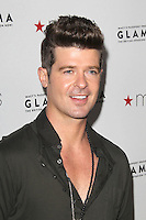 LOS ANGELES, CA - SEPTEMBER 07: Robin Thicke at Macy's Passport Presents: Glamorama - 30th Anniversary in Los Angeles held at The Orpheum Theatre on September 7, 2012 in Los Angeles, California. ©mpi25/MediaPunch Inc. /NortePhoto.com<br /> <br /> **CREDITO*OBLIGATORIO** *No*Venta*A*Terceros*<br /> *No*Sale*So*third*...