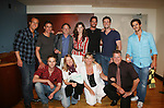 Doug Davidson, Christian LeBlanc, Justin Deas, Heather Tom, Don Diamont, Daniel Goddard, Adam Reist, Brandon Beemer, Front Row: Van Hansis, Michelle Stafford, Kim Zimmer, Robert Newman at Soapstar Spectacular presented by KDKA-TV stars Y&R, BB, GL and ATWT on June 13, 2010 at the Petersen Events Center, University of Pittsburgh, PA and benefited the Susan G. Komen for the Cure Pittsburgh Affiliate. (Photo by Sue Coflin/Max Photos)