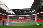 28 May 2008: Wembley Stadium before the game. The England Men's National Team defeated the United States Men's National Team 2-0 at Wembley Stadium in London, England in an international friendly soccer match.