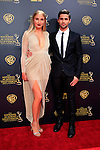 BURBANK - APR 26: Veronica Dunne, Max Ehrich at the 42nd Daytime Emmy Awards Gala at Warner Bros. Studio on April 26, 2015 in Burbank, California