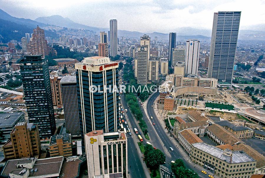 Cidade de Bogotá. Colombia. 1997. Foto de Rogério Reis.
