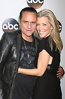 LOS ANGELES - JAN 8:  Maurice Bernard, Laura Wright at the ABC TCA Winter 2018 Party at Langham Huntington Hotel on January 8, 2018 in Pasadena, CA