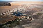 Kenya, Rift Valley,  Chalbi Desert in flood