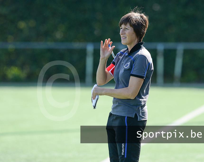 Famkes Westhoek Merkem Diksmuide - Club Brugge Dames A :  Club Brugge Coach Ingrid De Rycke <br /> Foto David Catry   VDB   Bart Vandenbroucke
