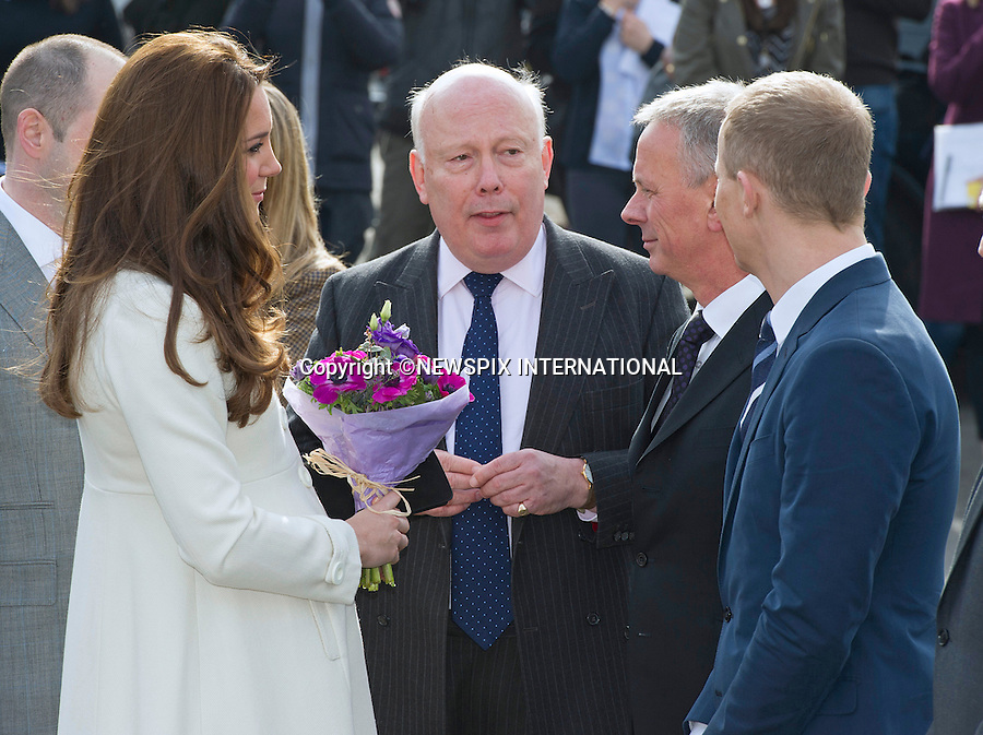 12.02.2015, London; UK: CATHERINE, DUCHESS OF CAMBRIDGE<br /> visited Ealing Studios to celebrate the success of the award-winning production, &ldquo;Downton Abbey&rdquo;.&nbsp; Kate toured the Downton Abbey set and met Julian Fellows, cast and crew members.<br /> MANDATORY PHOTO CREDIT: &copy;Dias/NEWSPIX INTERNATIONAL<br /> <br /> (Failure to credit will incur a surcharge of 100% of reproduction fees)<br /> <br /> **ALL FEES PAYABLE TO: &quot;NEWSPIX  INTERNATIONAL&quot;**<br /> <br /> Newspix International, 31 Chinnery Hill, Bishop's Stortford, ENGLAND CM23 3PS<br /> Tel:+441279 324672<br /> Fax: +441279656877<br /> Mobile:  07775681153<br /> e-mail: info@newspixinternational.co.uk