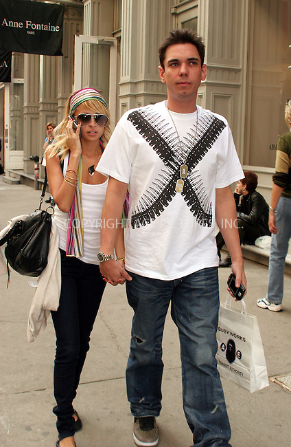 WWW.ACEPIXS.COM . . . . .  ....**EXCLUSIVE-FEE MUST BE AGREED BEFORE USE**....NEW YORK, APRIL 13, 2006....Nicole Richie and her boyfriend DJ Adam Goldstein seen in Soho.....Please byline: NANCY RIVERA- ACEPIXS.COM.... *** ***..Ace Pictures, Inc:  ..Craig Ashby (212) 243-8787..e-mail: picturedesk@acepixs.com..web: http://www.acepixs.com