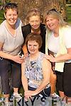 Hospice: Taking part in the Annual 10km Walk on Friday at the Muckross Gardens, Killarney, in aid of Killarney Hospice Society, were l-r: Margaret OConnor, Mairead Sheehan, Betty Garnett and Ann Mangan, Killarney..