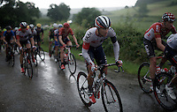 Pirmin Lang (SUI/IAM) dancing in the rain<br /> <br /> stage 3: Buchten - Buchten (NLD/210km)<br /> 30th Ster ZLM Toer 2016