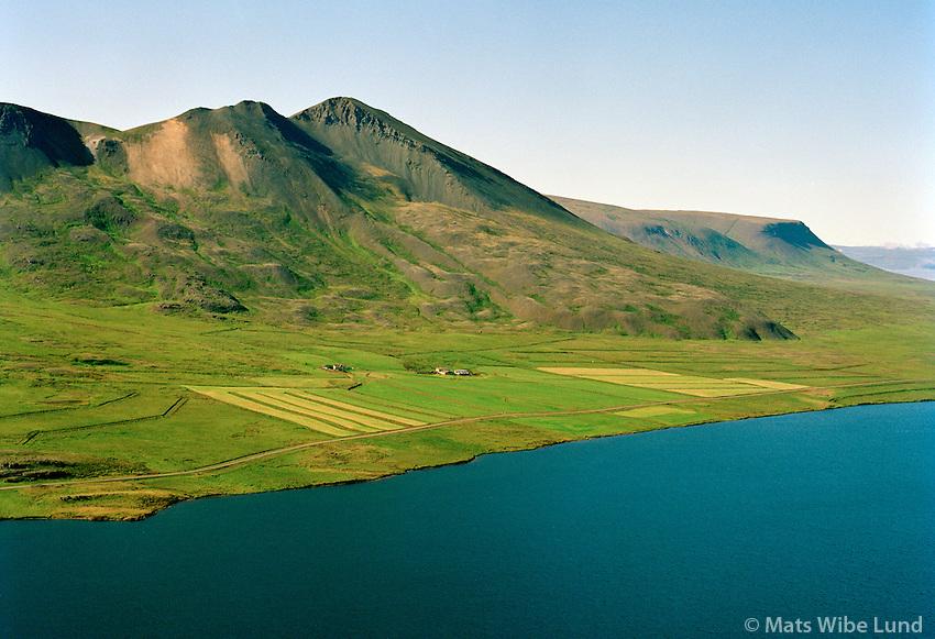 Mosfell séð til vesturs, Húnavatnshreppur áður Svínavatnshreppur / Mosfell viewing west, Hunavatnshreppur former Svinavatnshreppur.