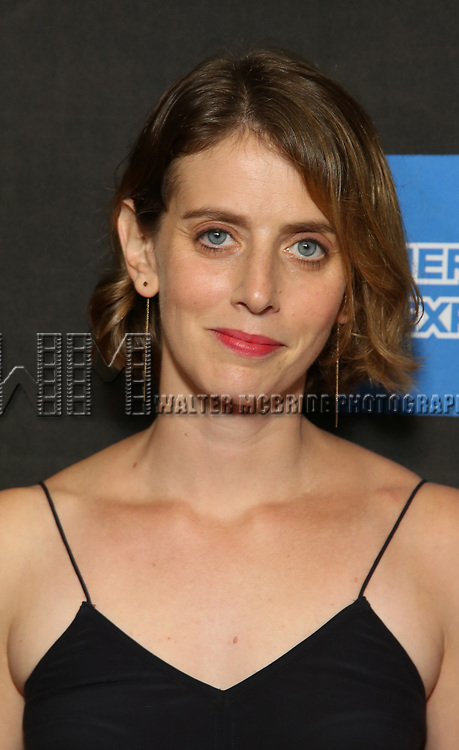 """Amy Herzog attends the Broadway Opening Night performance of """"Sea Wall / A Life"""" at the Hudson Theatre on August 08, 2019 in New York City."""