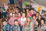 HAPPY 18TH: Aaron Jones, Lee Drive, Tralee (front centre) who had a blast celebrating his 18th birthday at his home last Saturday night along with many friends and family.
