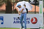 Ignacio Garrido (ESP) tees off at the 1st tee during Day 2 Friday of the Open de Andalucia de Golf at Parador Golf Club Malaga 25th March 2011. (Photo Eoin Clarke/Golffile 2011)