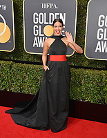 Mandy Moore at the 75th Annual Golden Globe Awards at the Beverly Hilton Hotel, Beverly Hills, USA 07 Jan. 2018<br /> Picture: Paul Smith/Featureflash/SilverHub 0208 004 5359 sales@silverhubmedia.com
