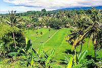Nusa Tenggara, Lombok. Rinjani. A traditional Sasak village on the slopes of Gunung Rinjani, this one is located south of Bayan.