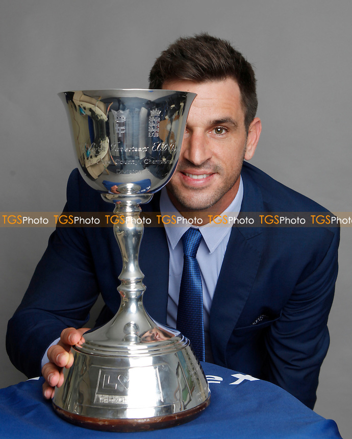 Ryan ten Doeschate of Essex with the Division Two Championship Trophy during the Essex CCC 2016 Awards Evening at the Essex County Ground on 29th September 2016