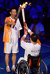 Opening ceremonies of the Paralympic games 2008.<br /> - Photo Benoit Pelosse-CPC