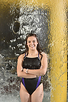 NWA Democrat-Gazette/SPENCER TIREY<br /> Hailey Rissinger is from Fayetteville. She&rsquo;s the girls diver of the year