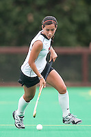 STANFORD, CA - September 19, 2010:  Elise Ogle during the Stanford Field Hockey game against Cal in Stanford, California. Stanford lost 2-1.