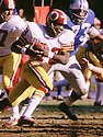 Washington Redskins Larry Brown (43) during a game from his 1973 season with the Washington Redskins. Larry Brown played for 8 season all with the Washington Redskins, was a 4-time Pro Bowler and was the 1972 NFL MVP.(SportPics)