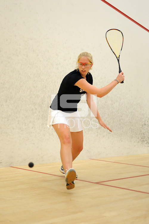 STANFORD, CA - OCTOBER 6:  Fannie Watkinson of the Stanford Cardinal during picture day on October 6, 2008 at the Squash Courts in Stanford, California.