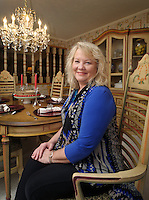 NWA Democrat-Gazette/BEN GOFF @NWABENGOFF<br /> Jo Vanderspikken poses for a photo on Monday March 7, 2016 in the dining room of her home in Rogers.